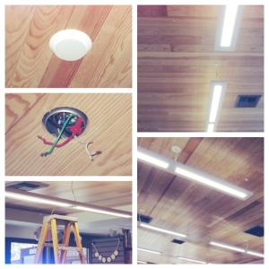 The evolution of the library lights.