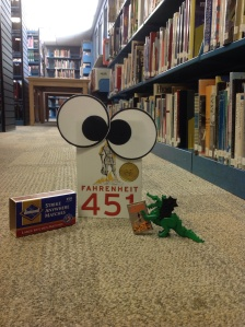 Oh, my word, is that our Dragonzilla friend and Fahrenheit 451 playing with matches?