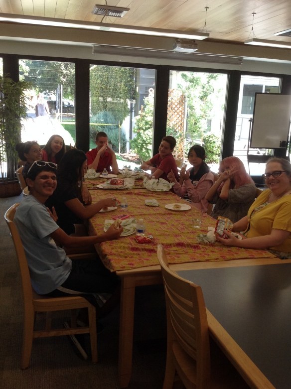 Ms. Melinson had lunch with her brand new advisory.