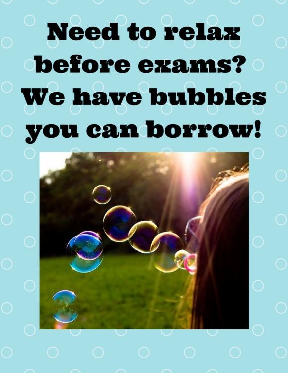 bubbles flyer